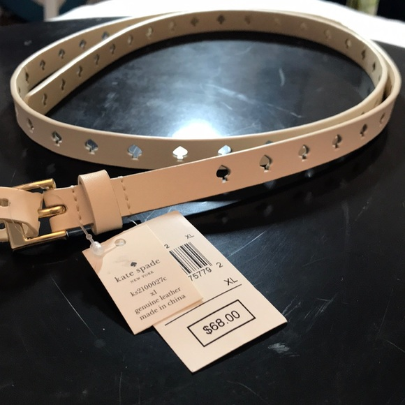 "kate spade Accessories - KATE SPADE ♠️ Belt that fits up to 46"" XL"